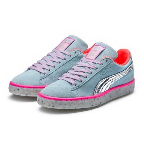 f89f645bbf31 New Puma x Sophia Webster Suede Sneakers 8
